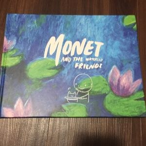 Monet and the Waterlily Friends Hardcover Book